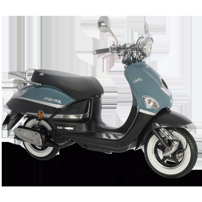 Italika Vitalia 150 Motor: 149.6cc Transmisión: Automátca/por banda. #Moto