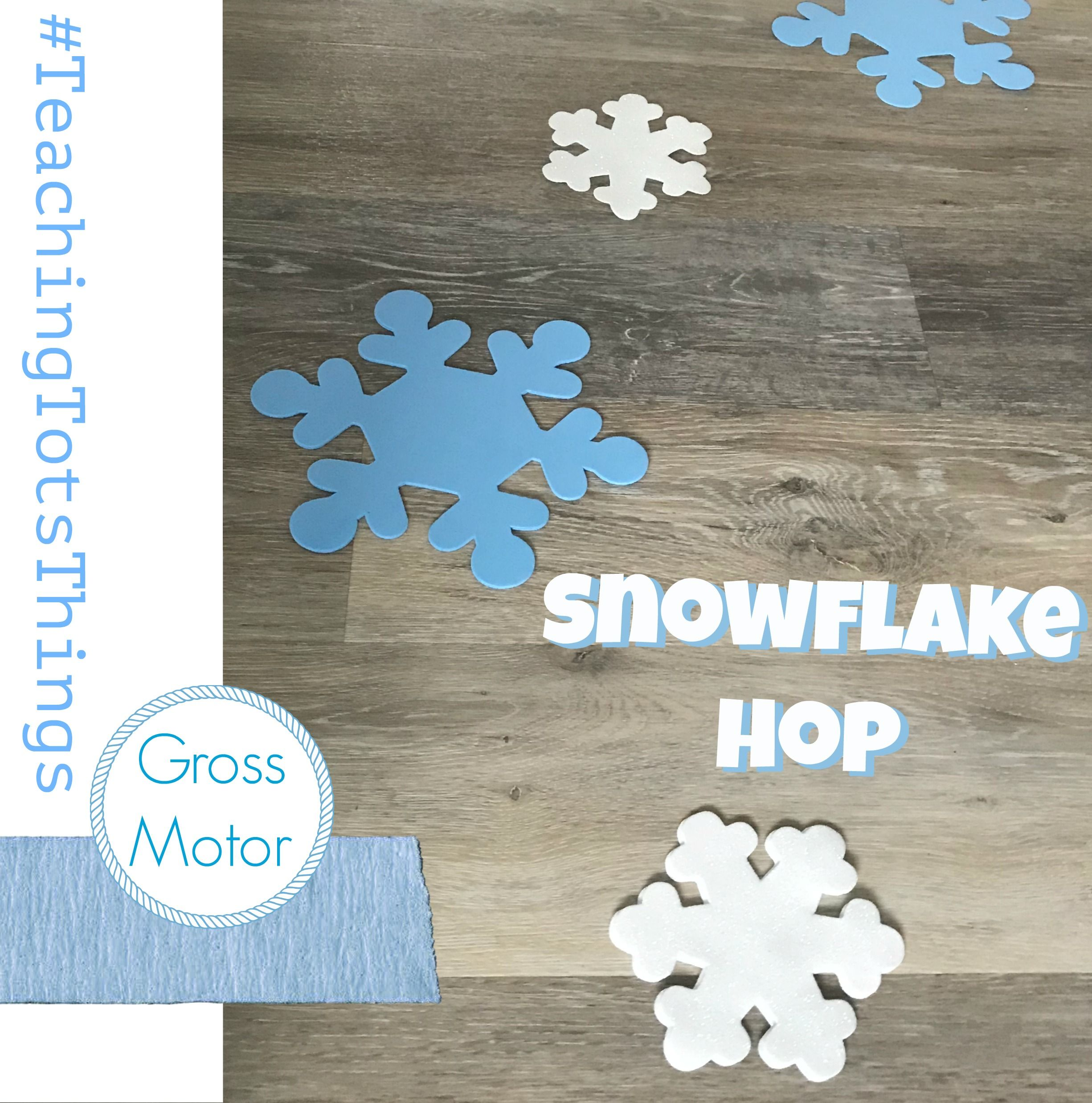 Get Your Child Moving With A Simple Snowflake Hop During