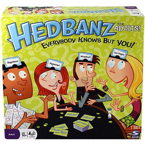 Spin Master Games Hedbanz Game For Adults Games Juegos Juegos