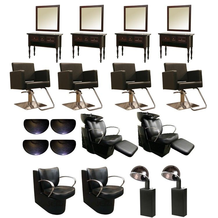 Wilmington 4 Station Salon Equipment Package | Salons | Pinterest ...
