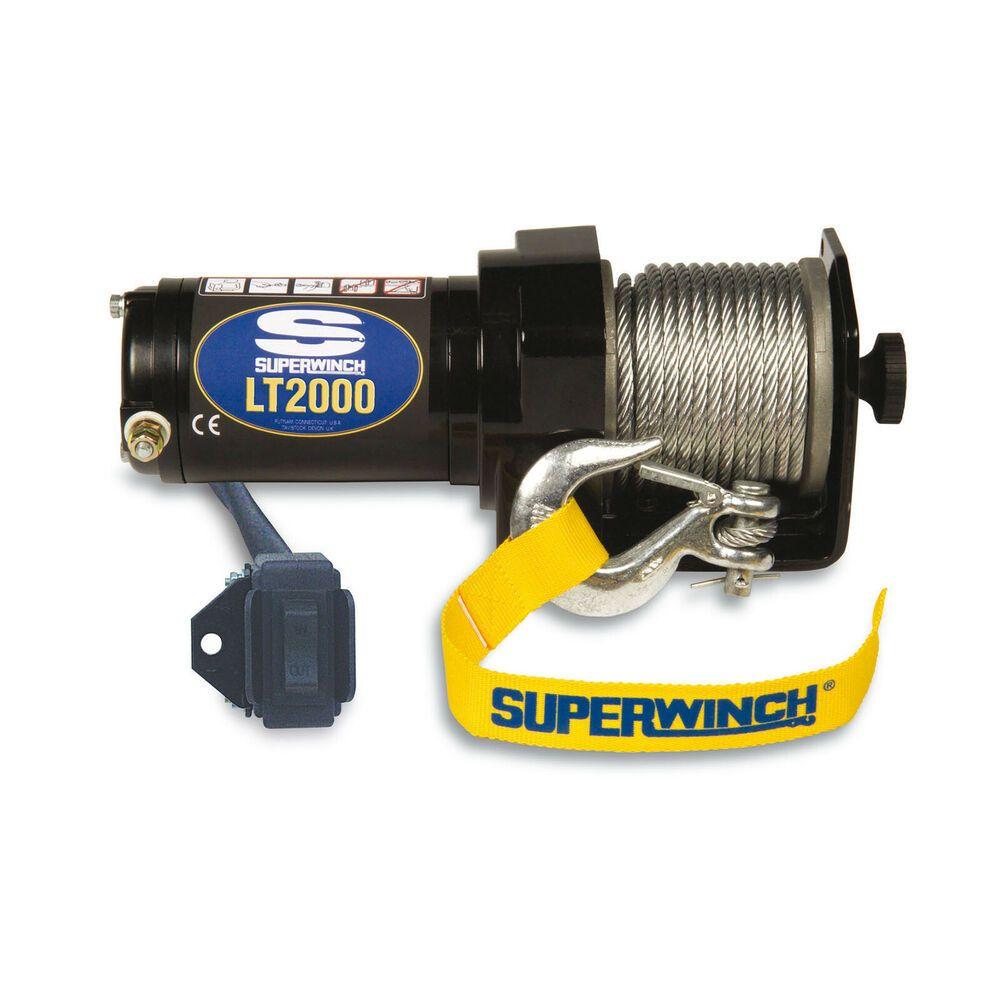 eBay #Sponsored Superwinch 1120210 Winch LT2000 12 Volt 2000