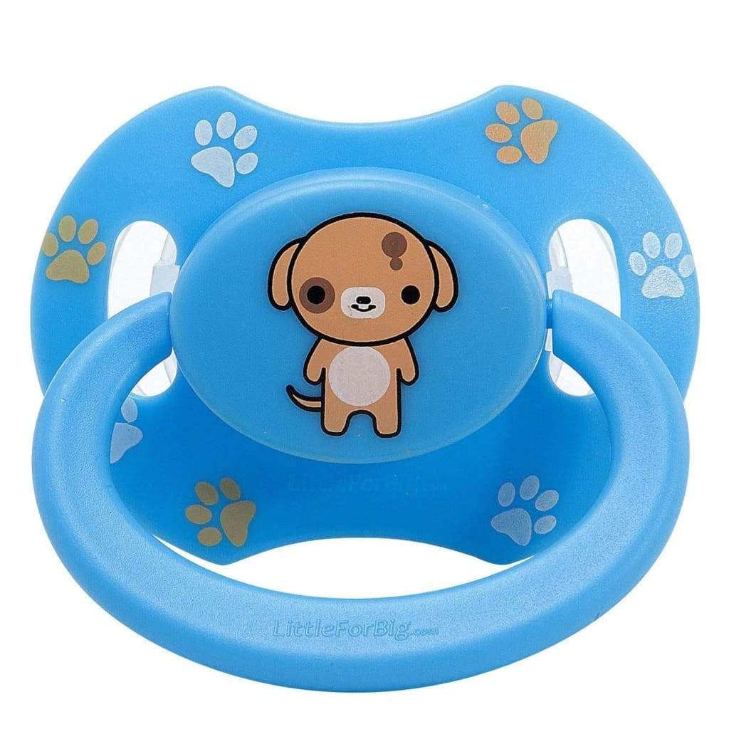 Baby Bear Pacis Adult Pacifier Transparent Blue Adult Paci DDLG, ABDL