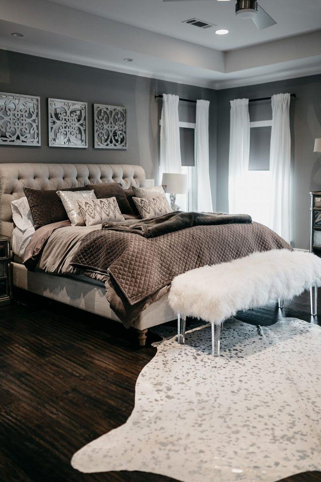 30 Stunning Master Bedroom Organization Design Ideas Cozy Master Bedroom Master Bedrooms Decor Master Bedroom Organization
