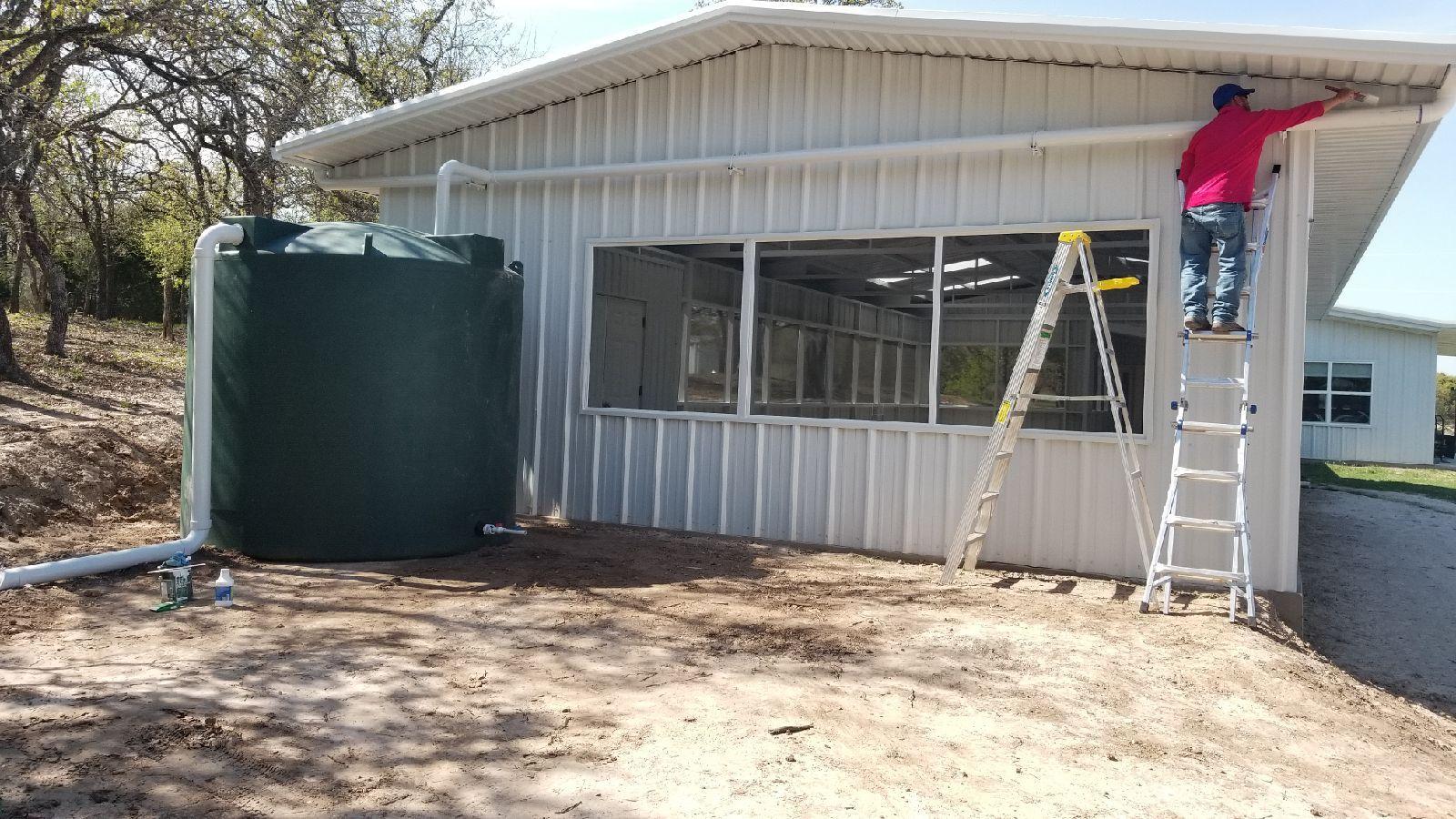 2500 Gallon Rain Collection System Rain Water Collection Diy Rain Water Collection Rainwater Harvesting