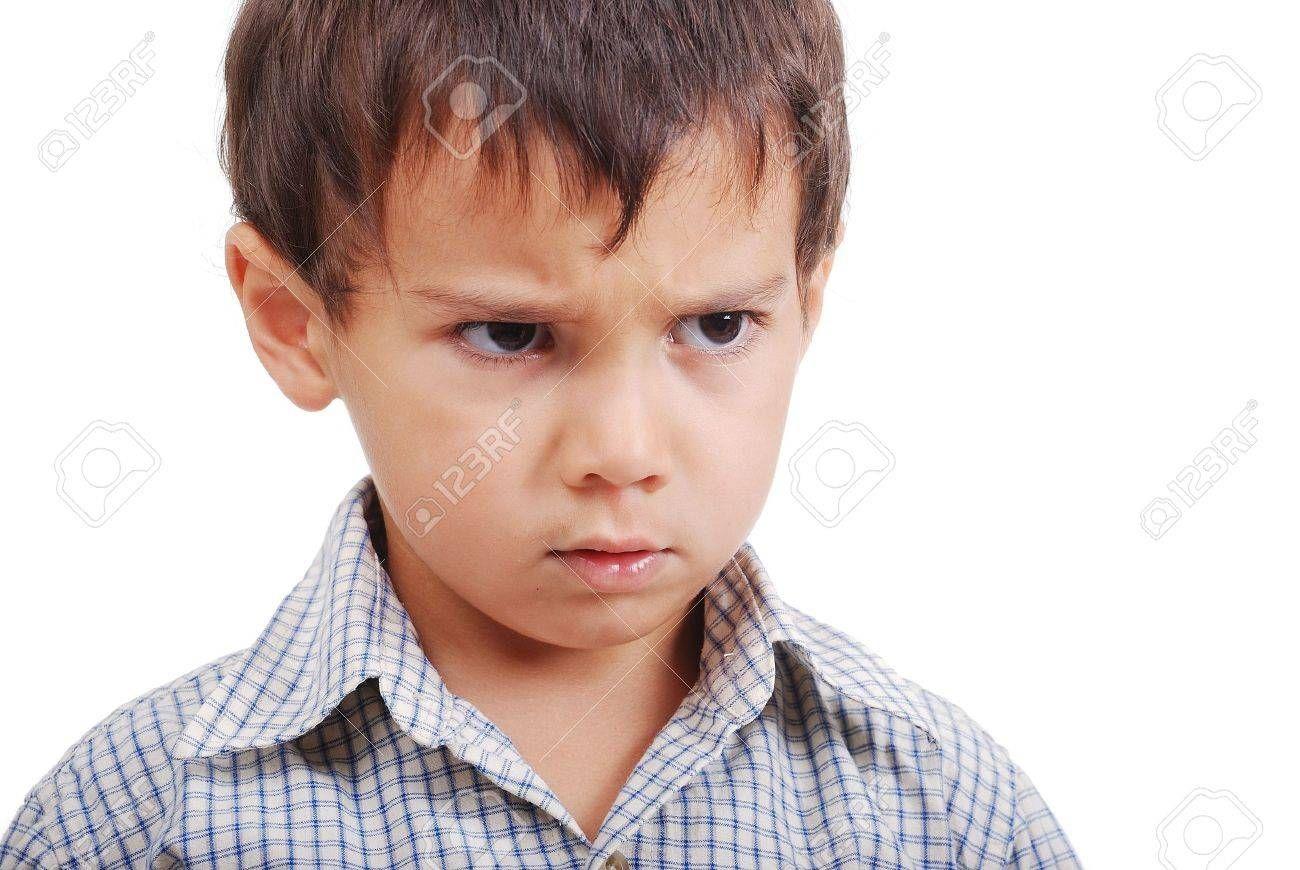Https Previews 123rf Com Images Zurijeta Zurijeta0908 Zurijeta090801027 5444869 Very Cute Little Boy With Angry Angry Expression Cute Little Boys Expressions