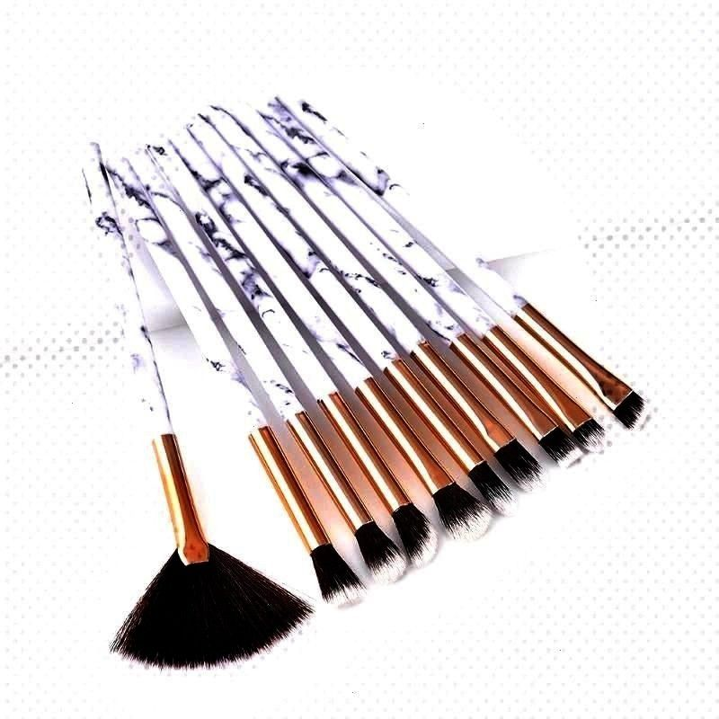 M...  These Drugstore Lipsticks Tick Every Box « Beauty MY  10Pcs/Set Marbling Makeup Brushes Kit