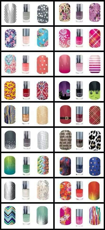 New nail lacquer colors from jamberry! Awesomeness ^.^