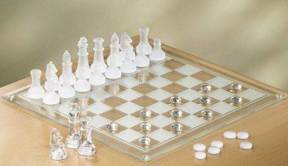 2 In 1 Glass Game Set Chess Marble Checkers Set By Crystal Clear Read More At The Image Link Marble Chess Set Chess Board Chess