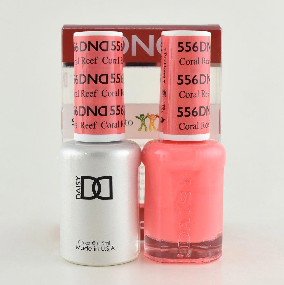 Daisy Dnd Duo Gel Matching Nail Polish 556 Coral Reef Health