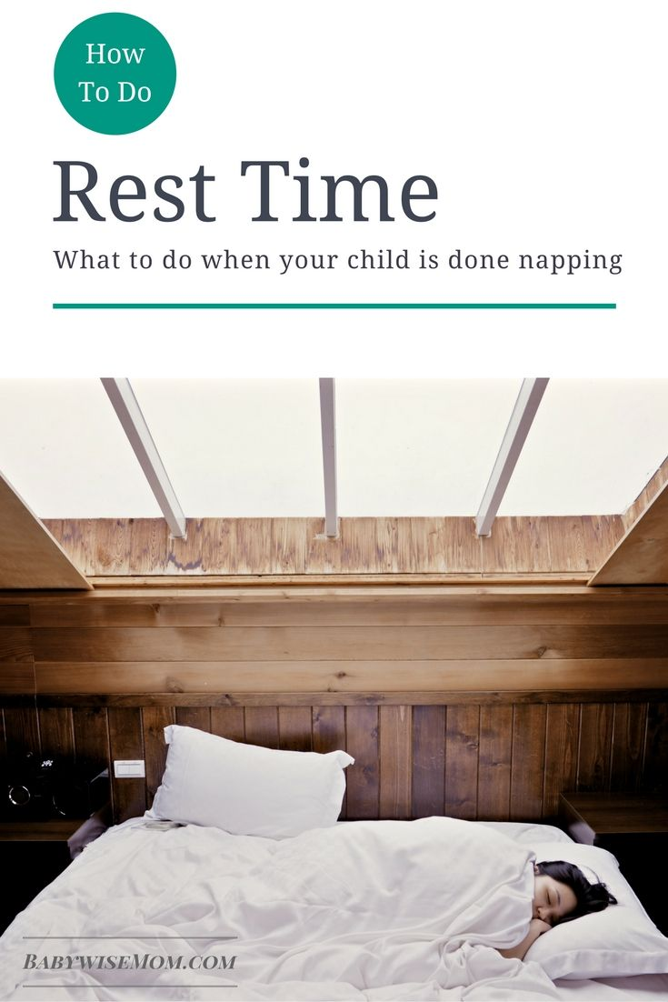 What to do when your child is done with taking naps. The answer isn't to do nothing.