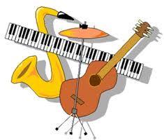 instruments de musique dessin couleur