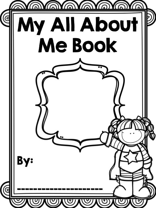 Book Cover School Near Me : Back to school all about me book tpt social studies