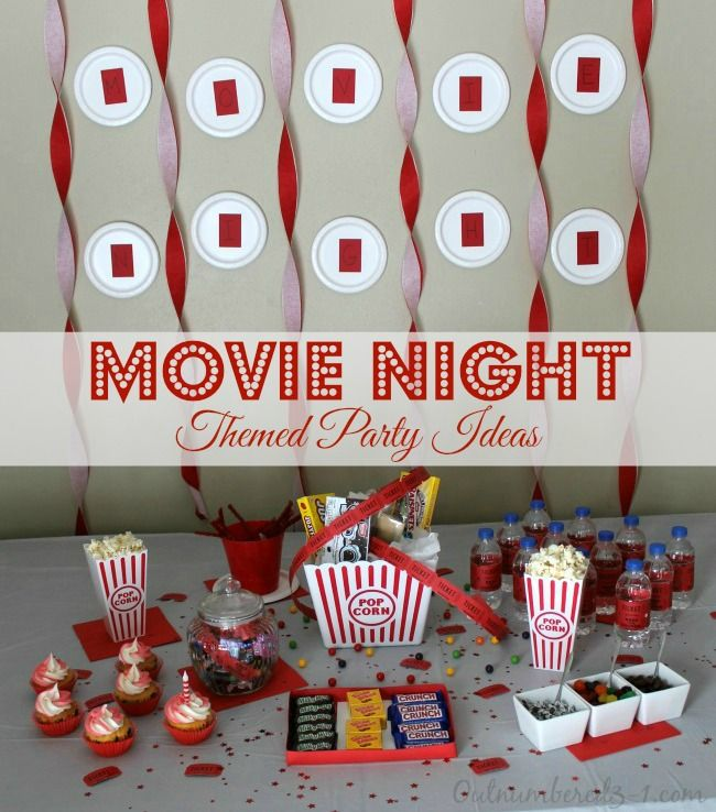 Movie Night Themed Party Ideas