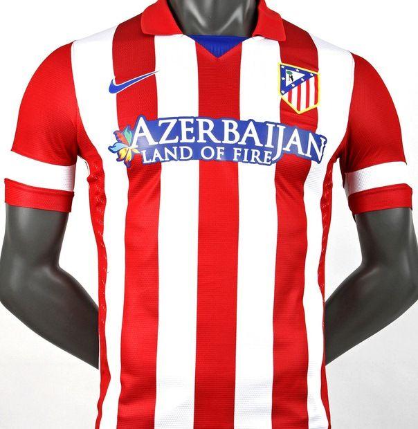 watch f2b20 2a79a Atletico Madrid Jerseys Home Kit 2013-2014 Nike | Sport ...