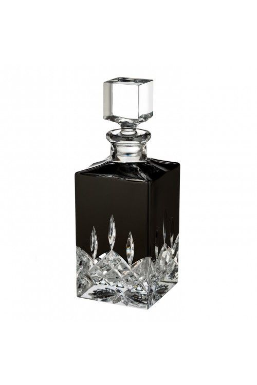 Lismore Black Square Decanter In 2019 Waterford Crystal At Wwrd