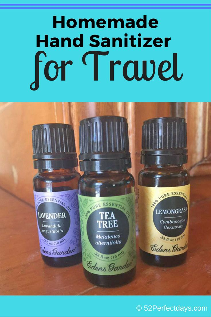 Homemade Hand Sanitizer For Travel Hand Sanitizer Foodie Travel