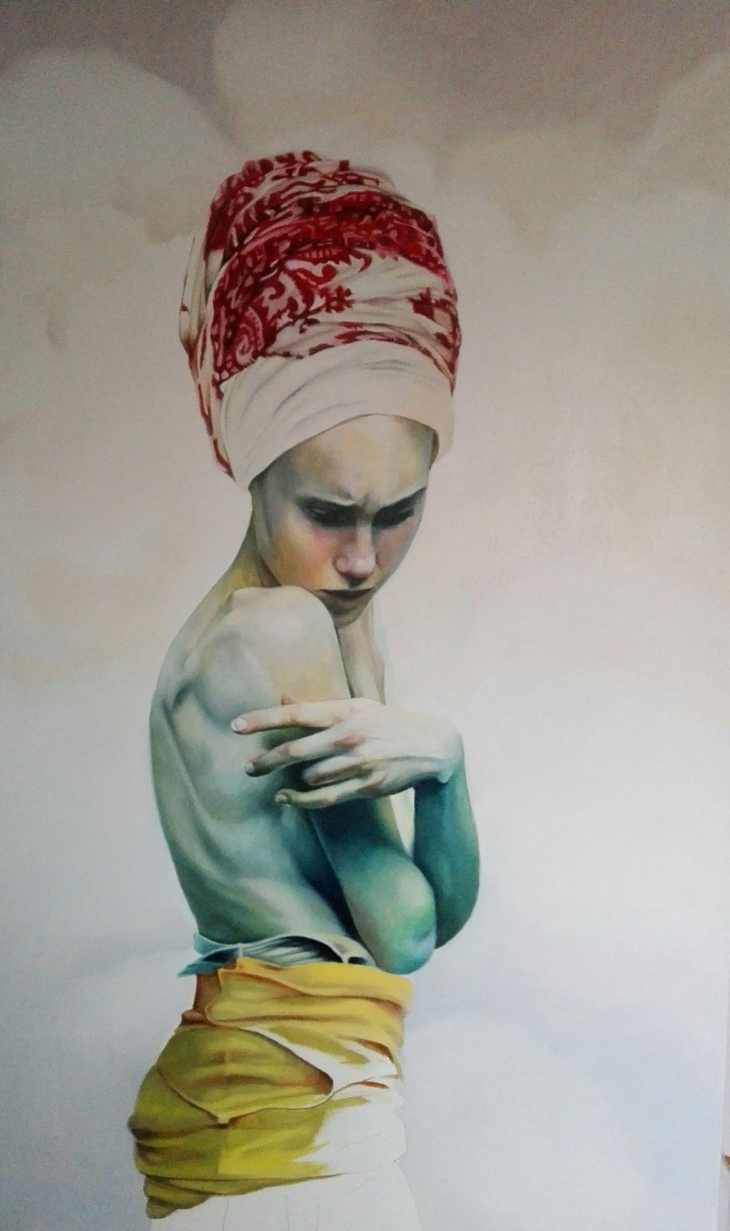 Obra de una pintora local Inma Peña, ven a verla! www.studio2b.es