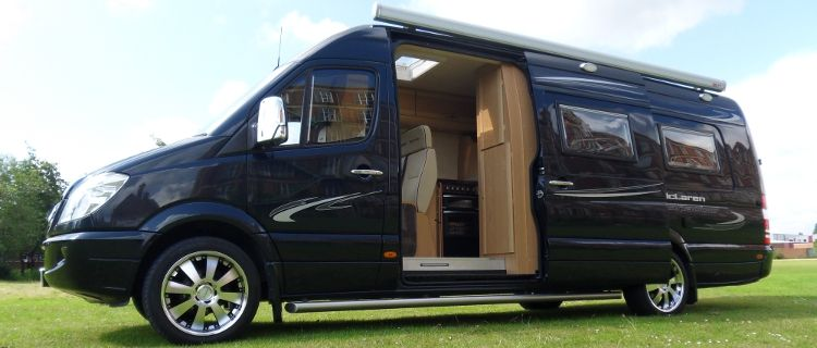 Mclaren shadow luxury mercedes sprinter motorhome camper for Mercedes benz luxury rv