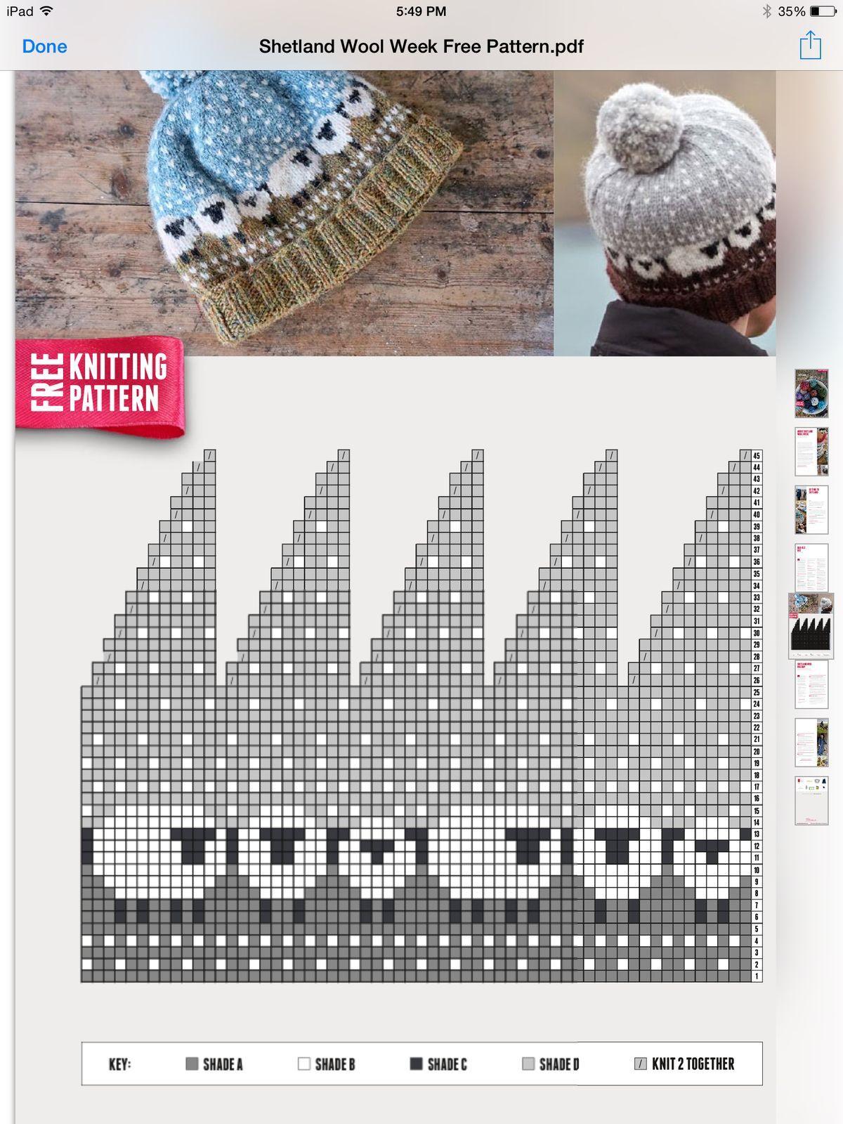 Free patern, Cute sheep hat | knitting | Pinterest | Gorros ...