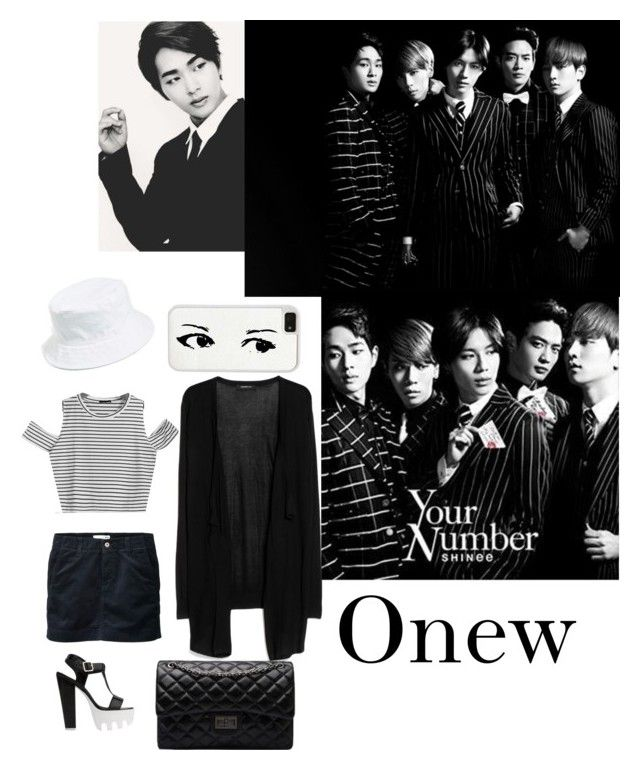"""""""Your Number? Onew"""" by aquari-lunatic ❤ liked on Polyvore featuring CellPowerCases, MANGO, Uniqlo, Amici Accessories, women's clothing, women, female, woman, misses and juniors"""