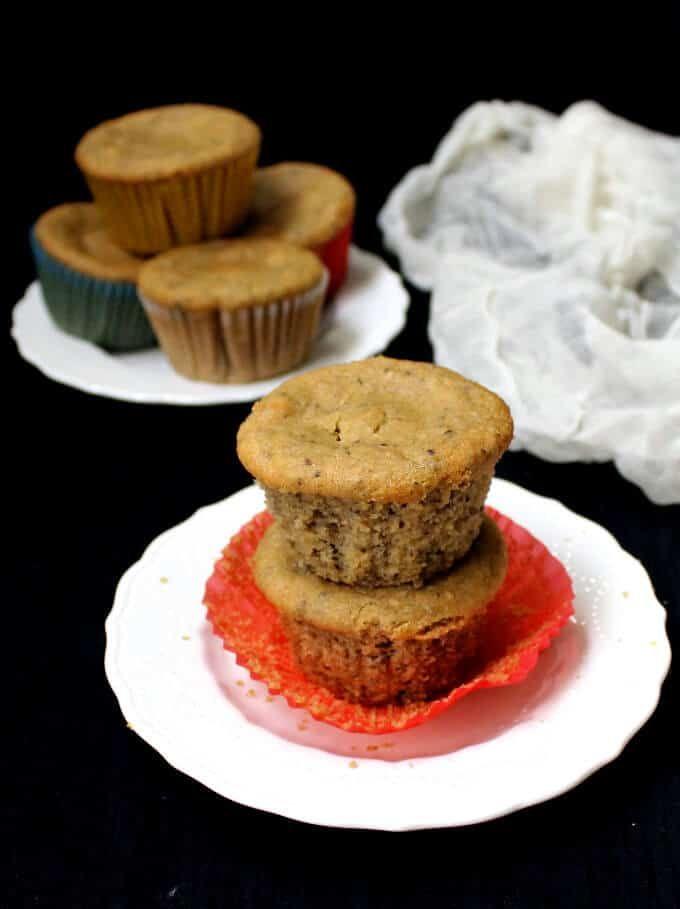 Vegan Almond Flour Chia Seed Muffins