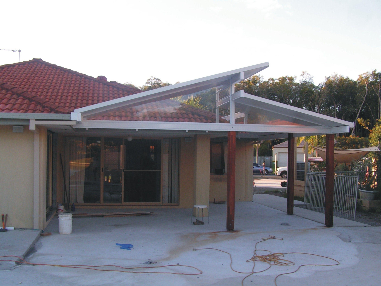 skillion roof carport _gold_coast_brisbane_solarspan