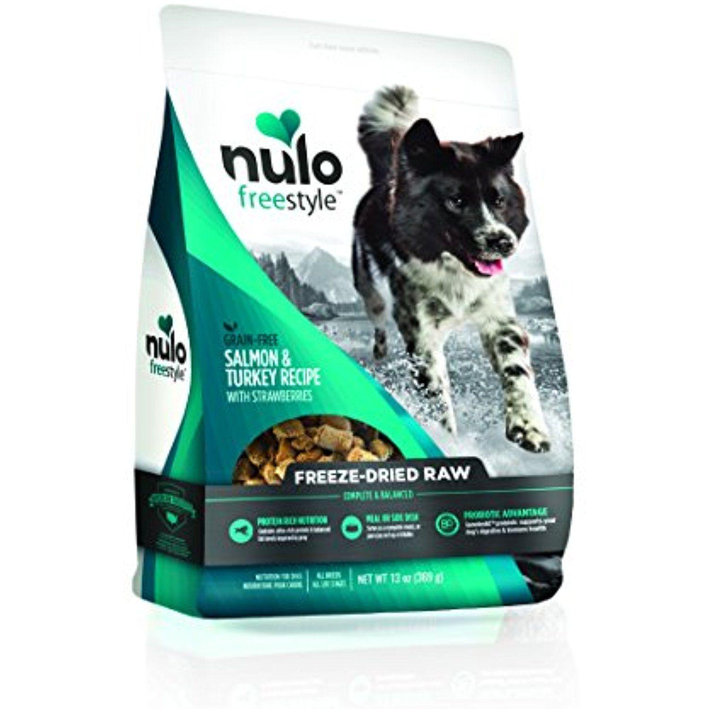 Nulo freestyle dog freeze dried salmon 13 oz bag 1 pack