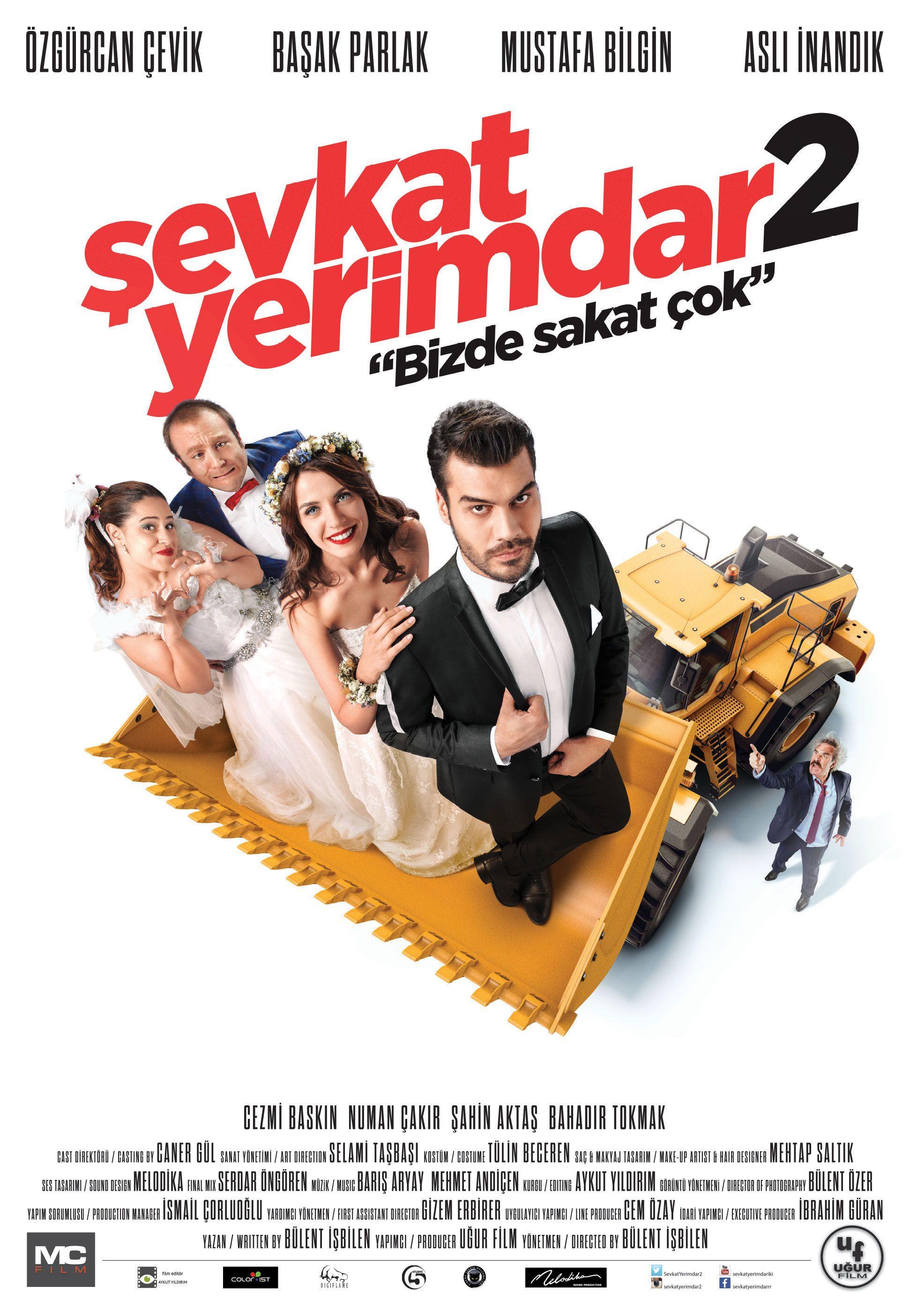 Sevkat Yerimdar 2 Film Komedi Filmleri Film Posteri