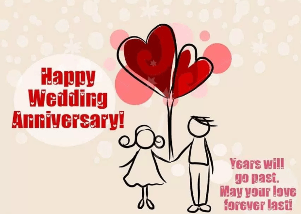 Happy st marriage anniversary status for husband and wife