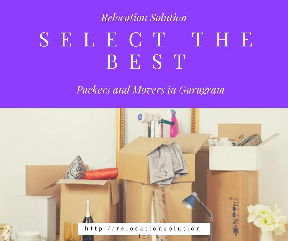 List of Packers and Movers in Gurugram.