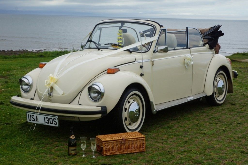 Elvis - Retro VW Beetle | LoveBug Weddings | Wedding car ...