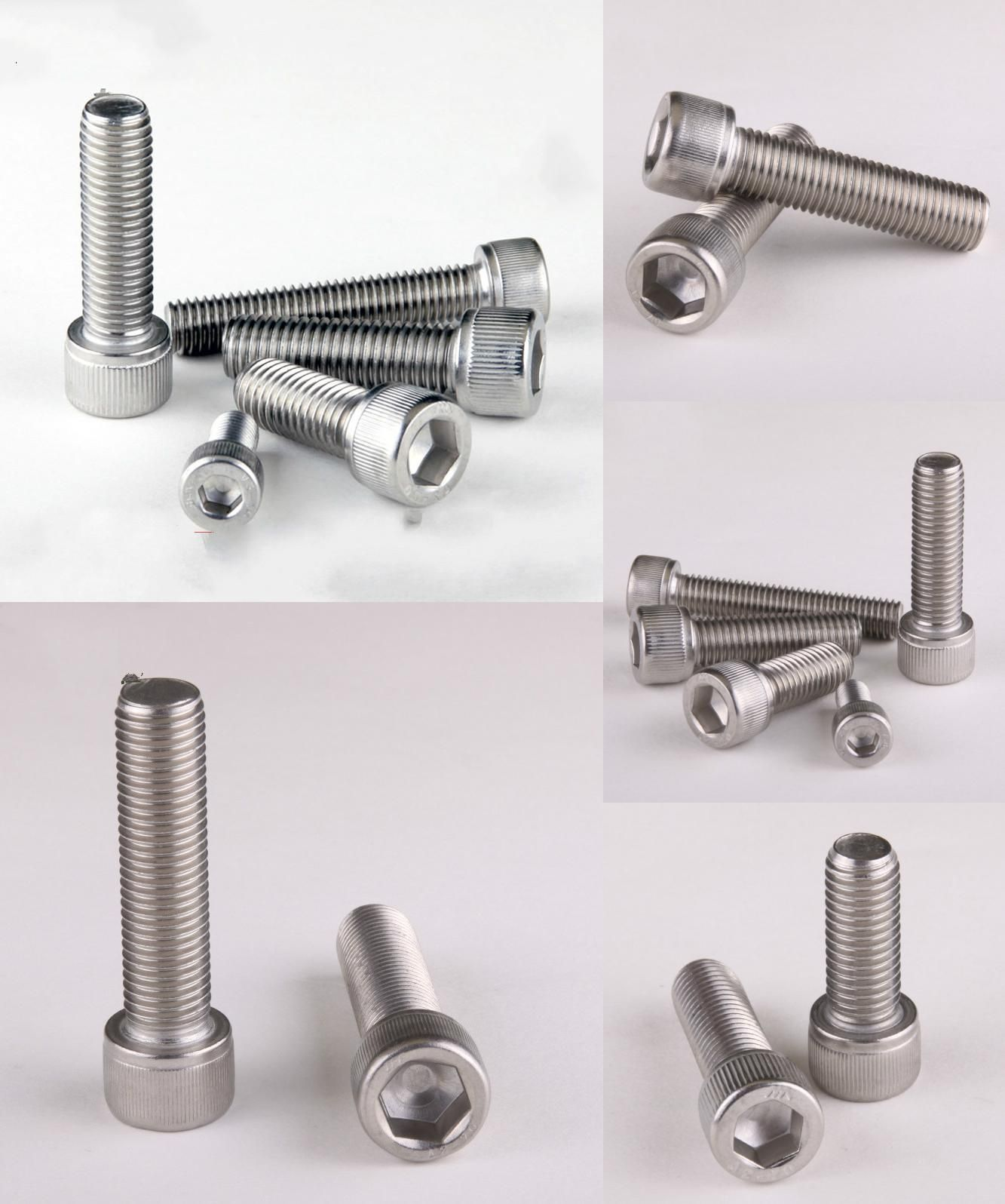 1 52us 5 Off 2pcs 304 Stainless Allen Bolt Socket Cap Screw Hex Head Allen Key Din912 M10 16 20 25 30 35 40 100 Head Machine Screw Head Screwhead Cap Scre 2pcs Stainless Bolt