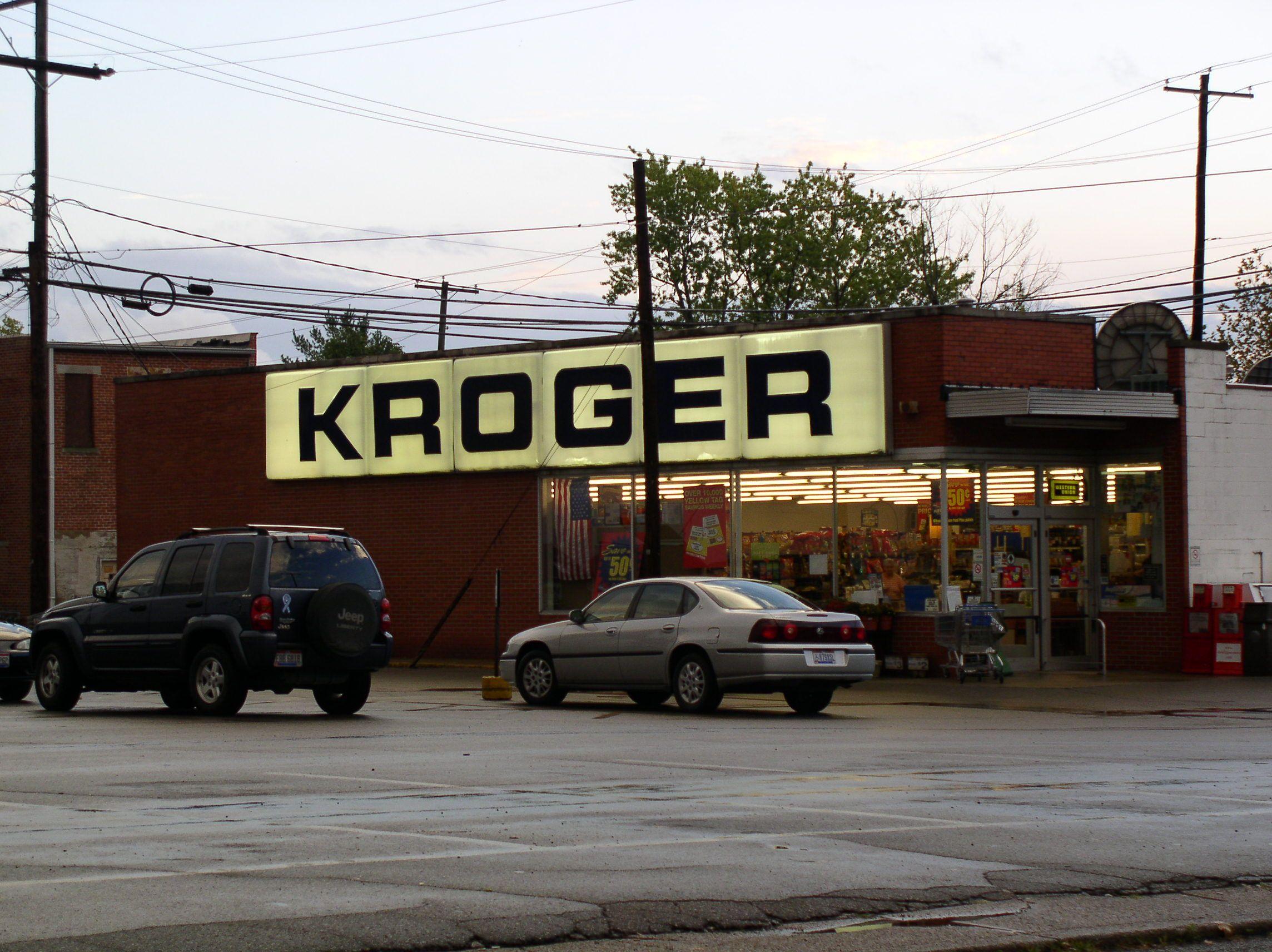 Kroger Fairfield Ohio >> Wellston Ohio Vintage Kroger The Buckeye State Ohio