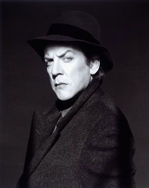 Robert Mapplethorpe - Donald Sutherland.