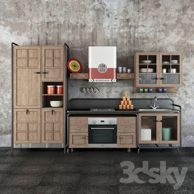 Dialma Brown Workshop kitchen | MAX BLOCKS | Kitchen, Kitchen models ...