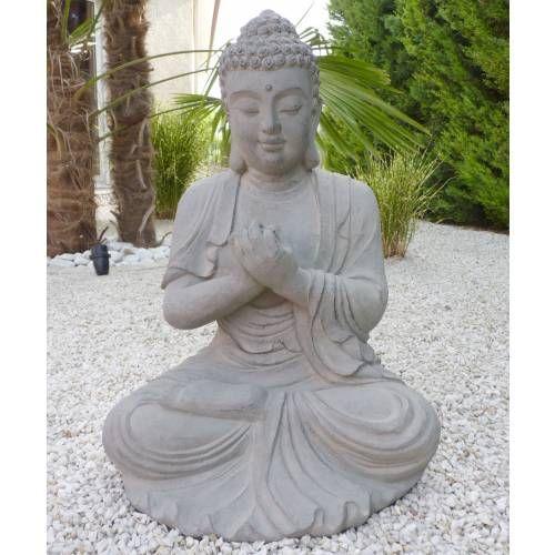 estatua de jardn zen buda altura cm