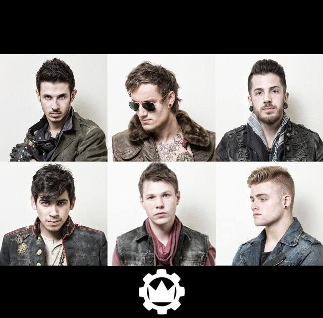 Crown the Empire//We were not born the enemy    saw them yesterday