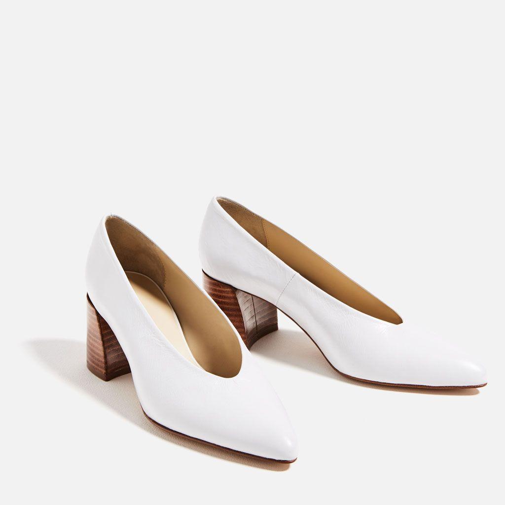 Ver México Mujer Tacón Piel Zara Medio Todo Rebajas Zapatos Salón anztFqHwxH
