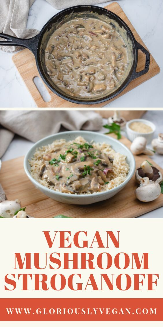Try this Vegan Mushroom Stroganoff recipe! With these easy cooking steps you will surely love this v...