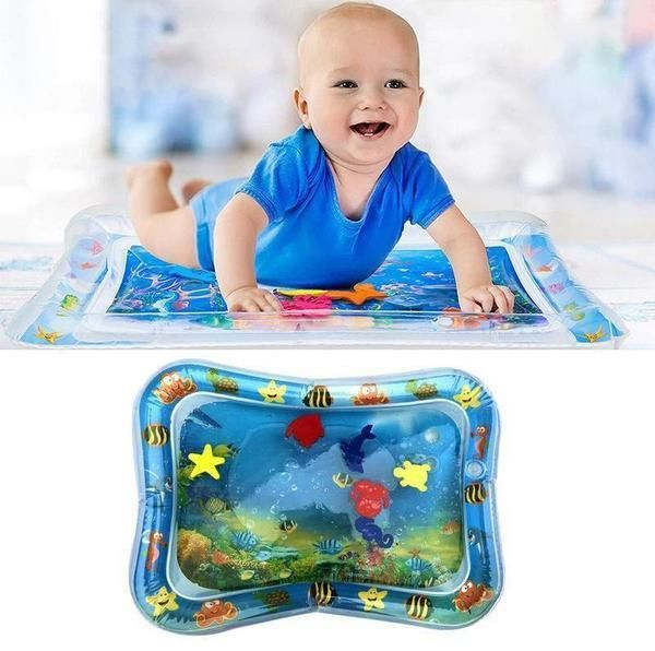 Water Fun For Baby Without Getting Wet Let Your Little One Enjoy A Splashing Good Time Right In The Middle Of The Li Tummy Time Toys Tummy Time Mat Tummy Time