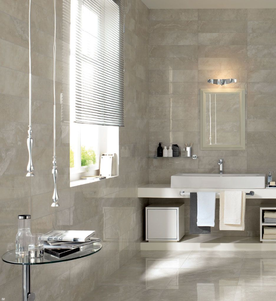 Traverse By Fine In Silver Available In 12x24 And 12x12 Matte Floor Tile 6x24 Polished Wall Tile 2x2 Matte Mosai Wall Tiles Flooring Lighted Bathroom Mirror
