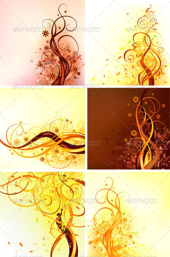 Realistic Graphic DOWNLOAD (.ai, .psd) :: http://jquery.re/pinterest-itmid-1000134103i.html ... 6 Autumn vector illustrations ...  autumn, brown, curl, fall, floral, floral design, flower, grunge, illustration, nature, plant, season, swirl, vector, yellow  ... Realistic Photo Graphic Print Obejct Business Web Elements Illustration Design Templates ... DOWNLOAD :: http://jquery.re/pinterest-itmid-1000134103i.html