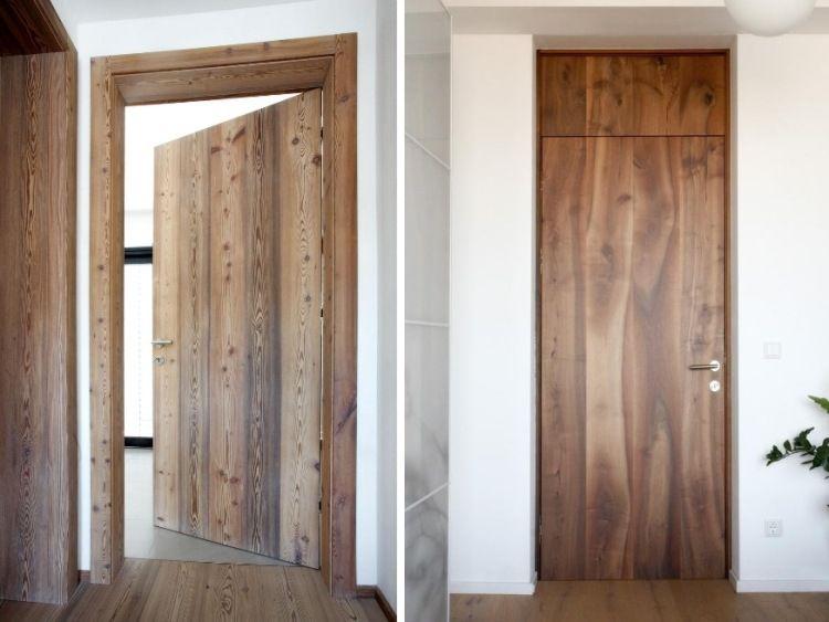 Massivholz zimmert ren aus nussbaum und l rchenholz t ren pinterest l rchenholz - Moderne zimmerturen ...