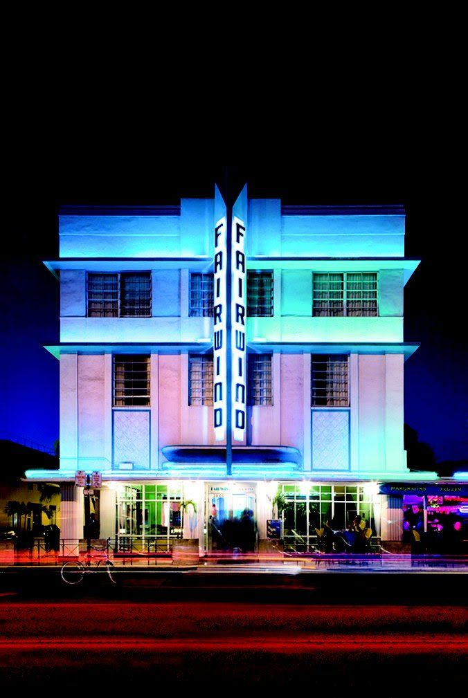The Art Deco Style Fairwind Hotel On Miami Beach S Collins Avenue Was Designed By L Murray Dixon In 1939