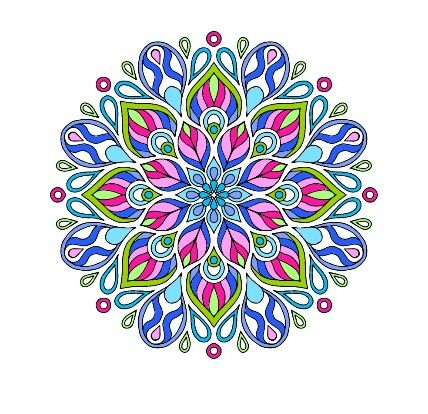 From Coloring Book For Me ManDaLa
