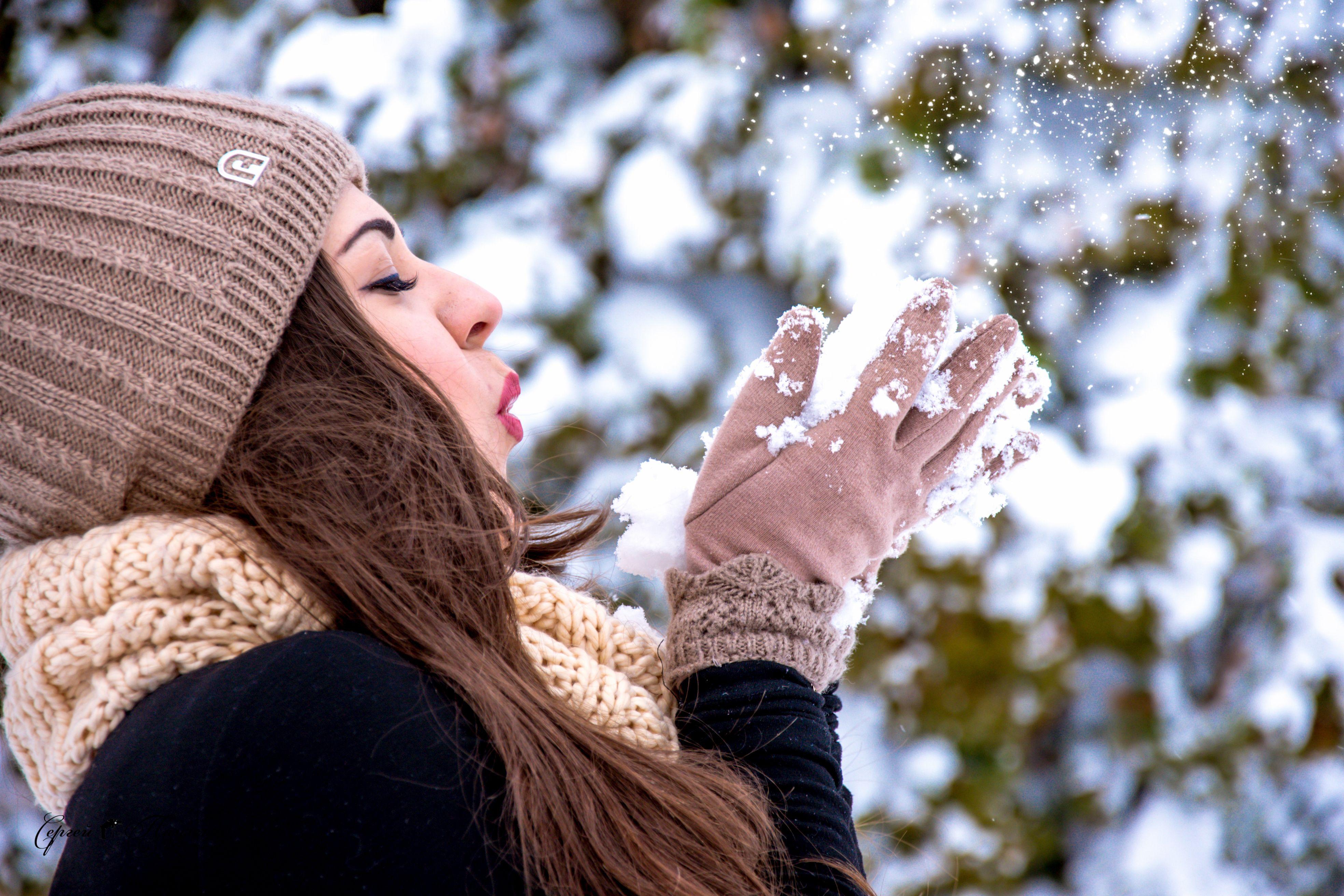 игла обыденные идеи для фото зимой стоит выйти улицу