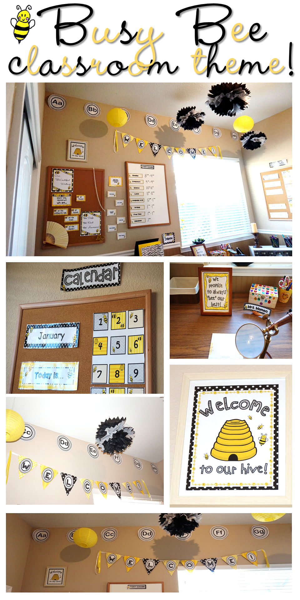 This Pack Has Everything You Need To Decorate Your Beeautiful Classroom And Keep Busy Bees Happy