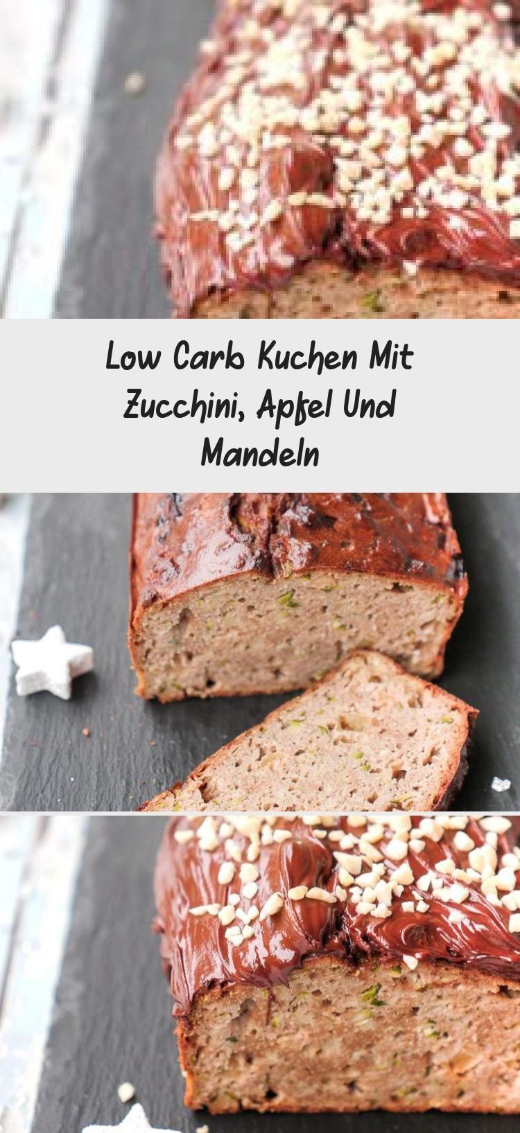 Super saftiger Low Carb Kuchen mit Zucchini Apfel und gemahlenen Mandeln  Gaumenfreundin Foodblog