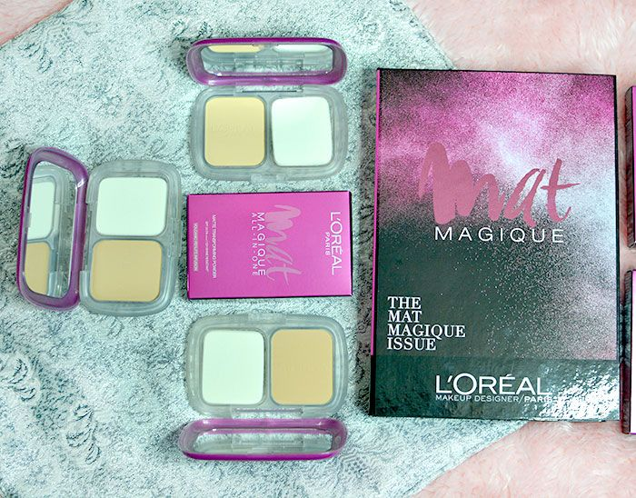 Stay Matte For 12 Hours With L Oreal Mat Magique Foundation Giveaway Foundation Powder Foundation