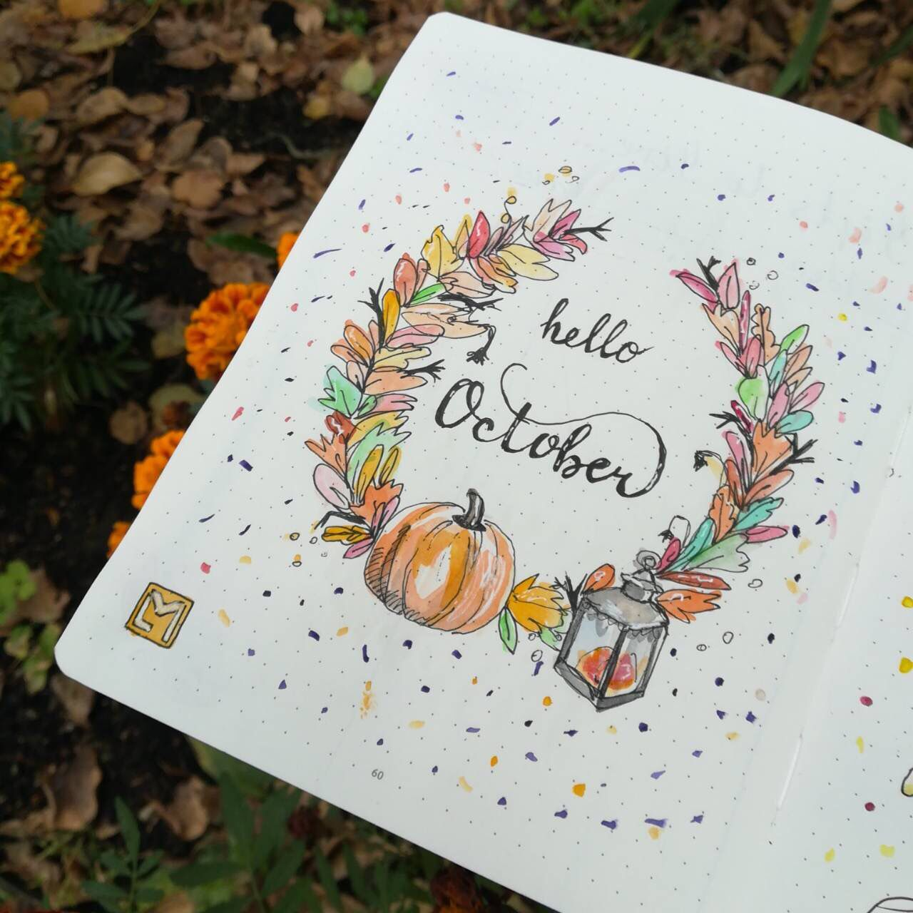 Hello October Surprise Me With Your Love And Happiness Littlemore Littlemoreplanner